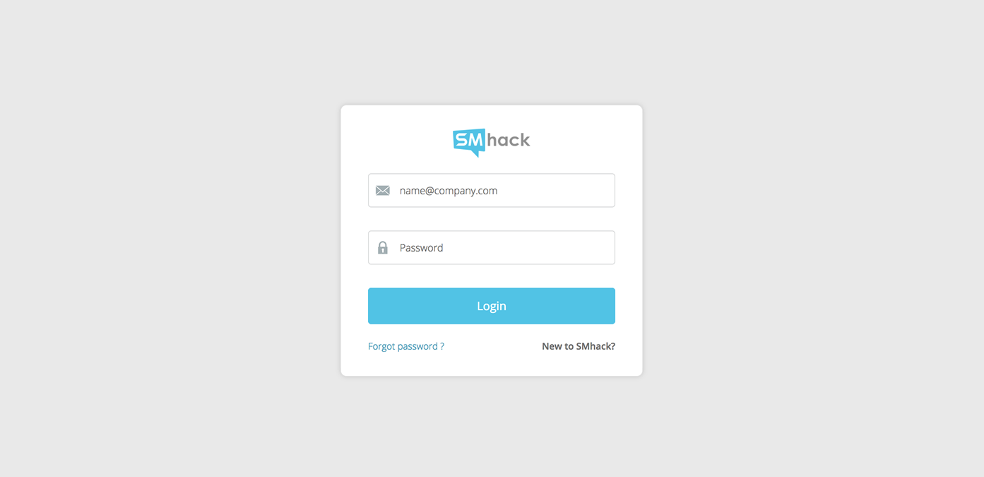 SMhack-Login-Signup-forgot-password